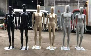 Mannequins, French form