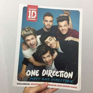 ONE DIRECTION BOOK MEET ONE DIRECTION