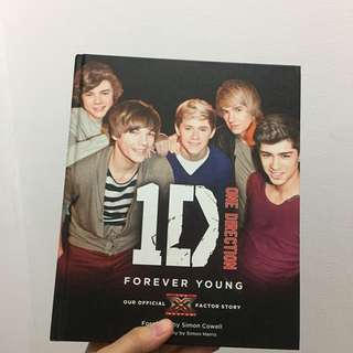 ONE DIRECTION FOREVER YOUNG X FACTOR BOOK