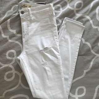 Hollister highwasited skinny jeans