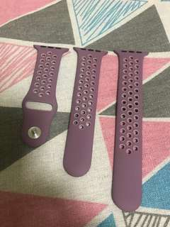 100% Apple Orignial 42mm Nike+ Violet Sport Band - 原裝Nike+紫色運動錶帶