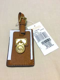 Michael Kors Travel Tag Genuine Leather
