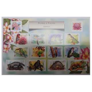 2007 Singapore Definitive Stamp Sheet - Flora & Fauna (Presentation Pack)