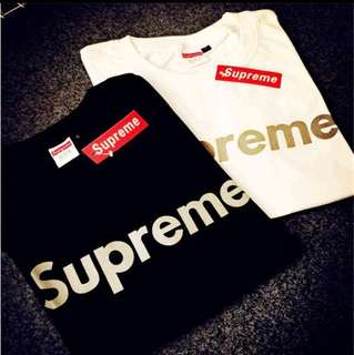 Supreme T Shirt 2XL black