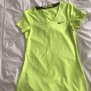 Neon Nike Athletic T-Shirt