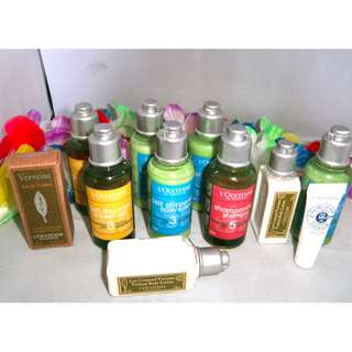 L'OCCITANE Package with FREE: Pouch