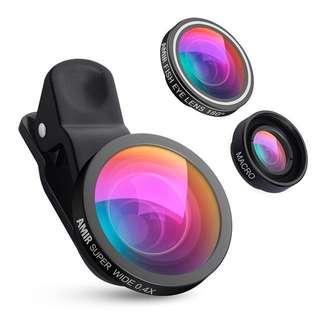 Phone Camera Clip On Lenses