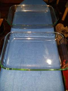P100 OFF  2 pc PYREX Baking Dishes (made in USA)