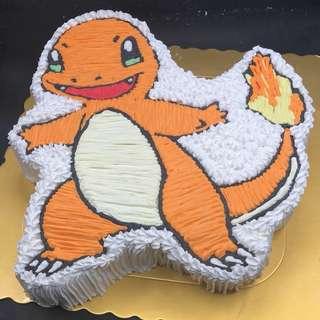 小火龍 寵物小精靈 蛋糕 兩磅半
