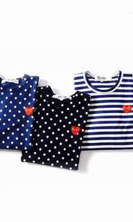🆕👨👱♀️🎉🛍SUMMER SALE!! Authentic CDG PLAY Tee