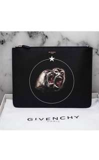 🆕👨👱‍♀️🎉🛍 SUMMER SALE!! Authentic GIVENCHY Iconic Monkey Brothers Clutch