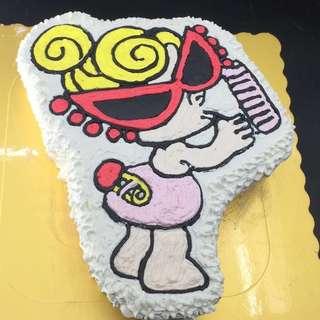 奶咀b 奶嘴b bb囡 蛋糕 2磅