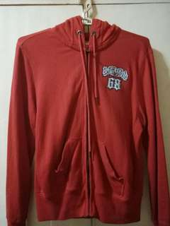 Red BNY Jacket with hood