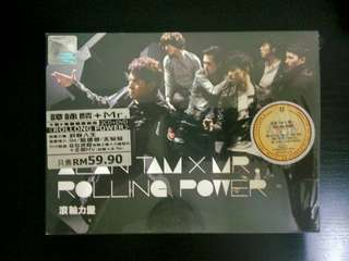 譚詠麟 Alan Tam + Mr. - Rolling Power (2CD + DVD)