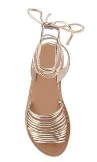 Topshop Hobble Ankle Tie Sandal