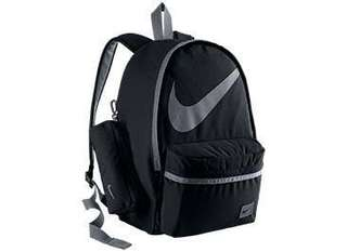 Nike Halfday Backpack (Black with Gray Linings)