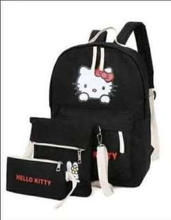 3in1 HELLO KITTY BAGPACK