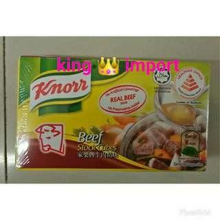 Knorr Beef Stock Cube / Kaldu Sapi berbentuk Cube