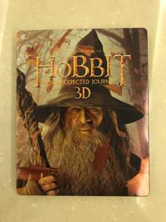 The Hobbit: An Unexpected Journey 3D Blu Ray Steelbook