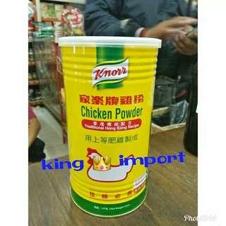 Knorr Chicken Powder Hongkong 1kg / kaldu ayam bubuk resep hongkong