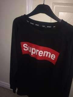 Faux Supreme XL sweater