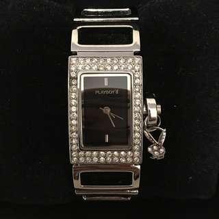 Playboy Watch 水晶石手錶 全新