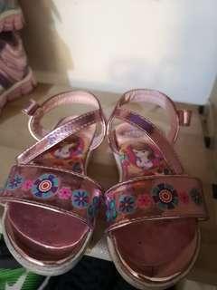 Princess Sofia sandals