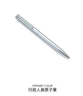 Tiffany 925純銀+14K金 原子筆