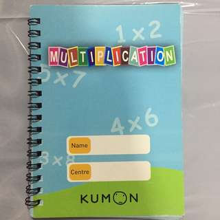 🚚 Multiplication book