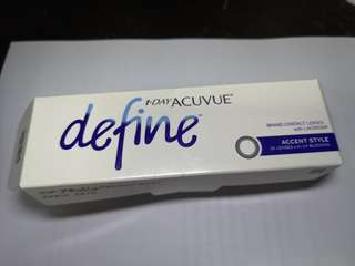 1 Day Acuvue Define and Moist