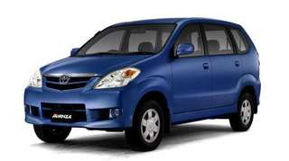Toyota Avanza for rent (manual)