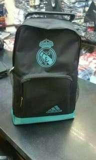 TAS JINJING REAL MADRID AWAY HITAM GRADE ORI