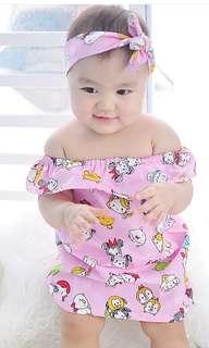 Tsum taum pink dress