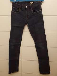 H&M SKINNY JEANS dark blue 12-14Y