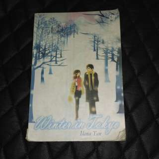 ILANA TAN WINTER IN TOKYO - NOVEL BEKAS SECOND PRELOVED GRAMEDIA PUSTAKA UTAMA