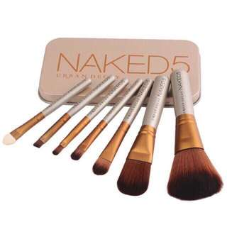 Naked 7pcs brush kit ONHAND