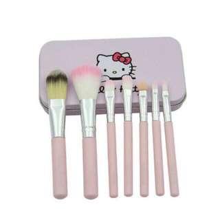 Hello Kitty 7pcs brush kit ONHAND
