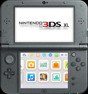 Nintendo 3DS XL (rarely used)