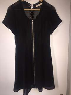 Sheer top dress size 8-10