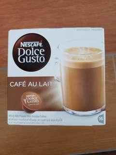 Nescafe Dolce Gusto Cafe Au Lait 雀巢 咖啡膠囊