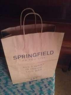 Springfield paper bag