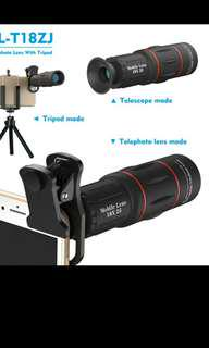 High quality lenses for Any phone with tripod