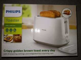 Brand New PHILIPS Toaster Daily Collection