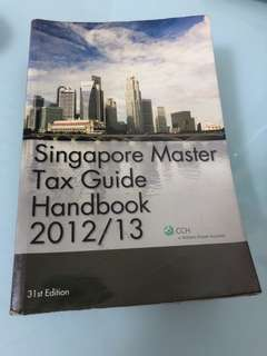 Singapore Master Tax Guide 2012/2013