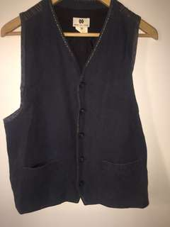 Boho vest with back detail VINTAGE
