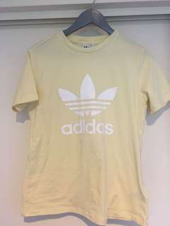 Yellow Adidas tee