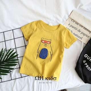 🚚 立體小熊T恤