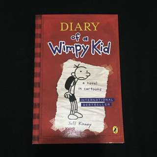 Diary of a Wimpy Kid, First Book