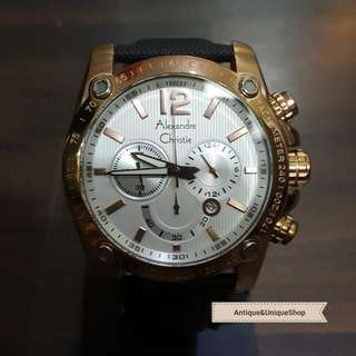 AC chronograph gold super manly