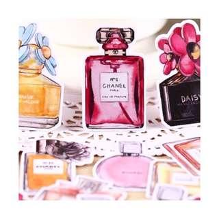 Perfume Stickers